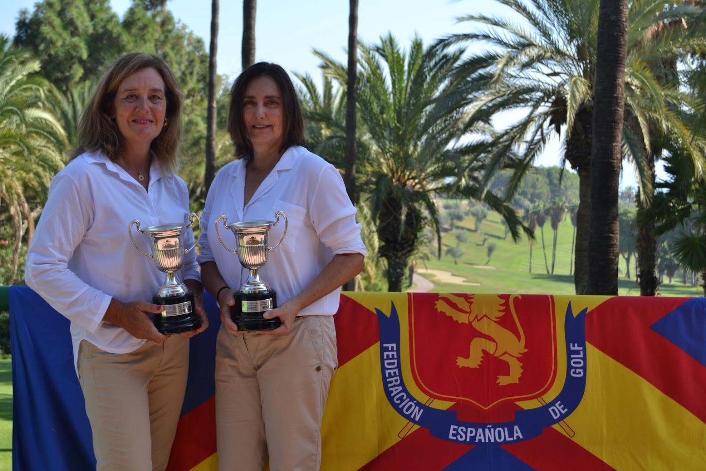 Soledad Desvalls y María Trallero Campeonas de España Dobles Senior Femenino 2019