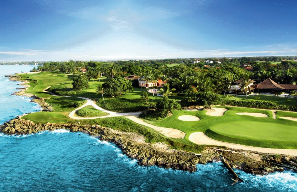 República dominicana golf: Diente de Perro hoyo 17