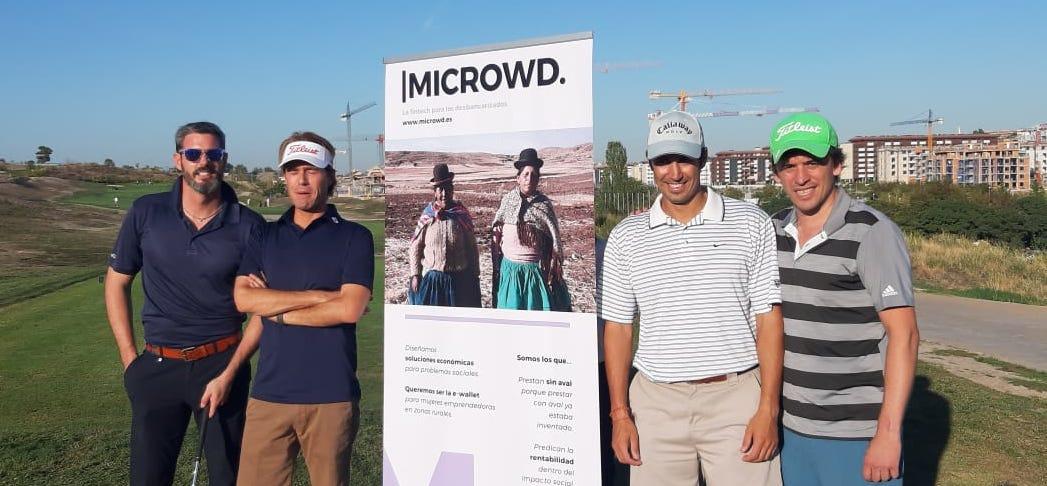 La Fintech Microwd organiza su primer Torneo de Golf para Inversores en Madrid.