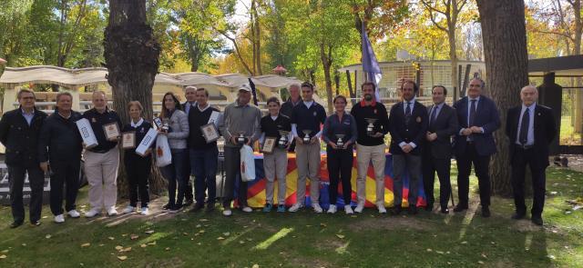 Sergio Jiménez se alza con la victoria en el Internacional de España de Pitch & Putt
