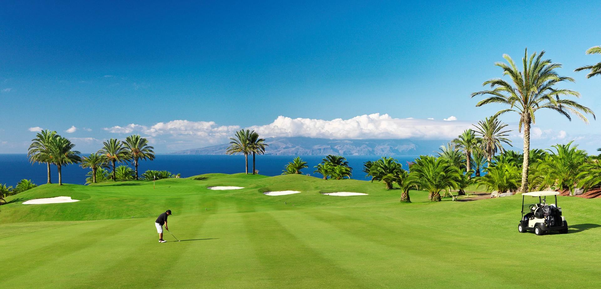 Tenerife, entre los 15 mejores destinos de turismo de golf en el mundo.