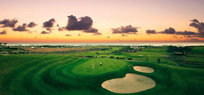 Descubre el golf en Lanzarote