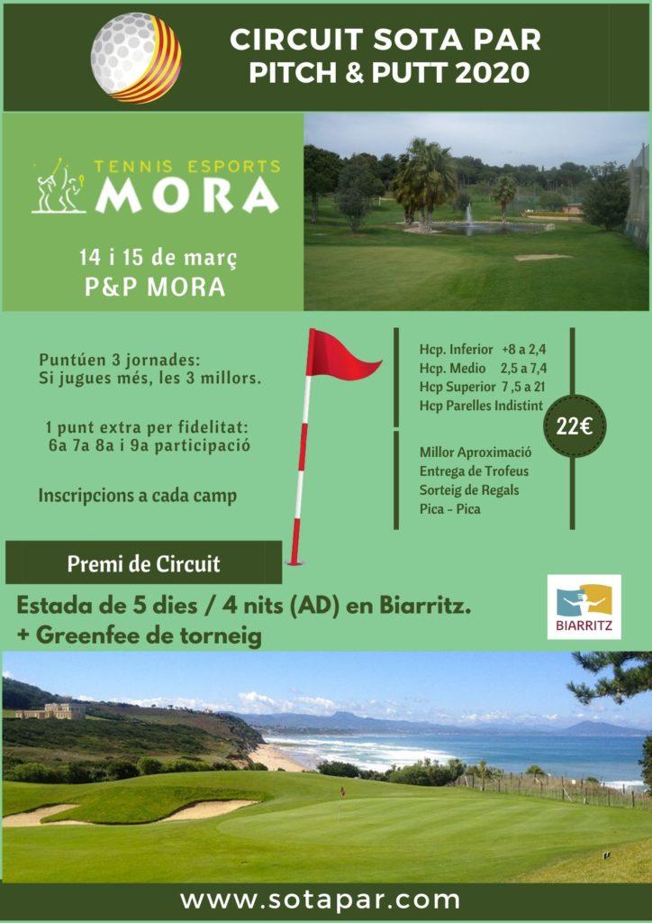 Próxima jornada del Sota Par Biarritz: Tennis Mora P&P