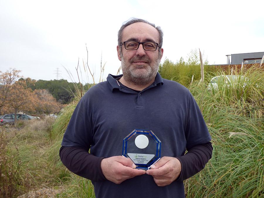 Triunfo de Xavier Torres en el Vallès Golf