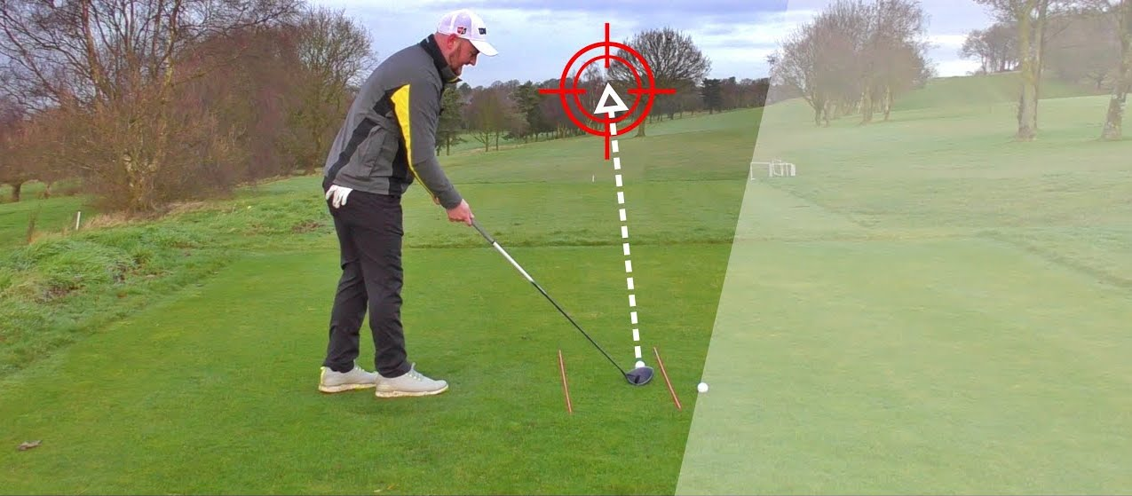 ¿Practicar golf en casa? Golpes en línea al objetivo