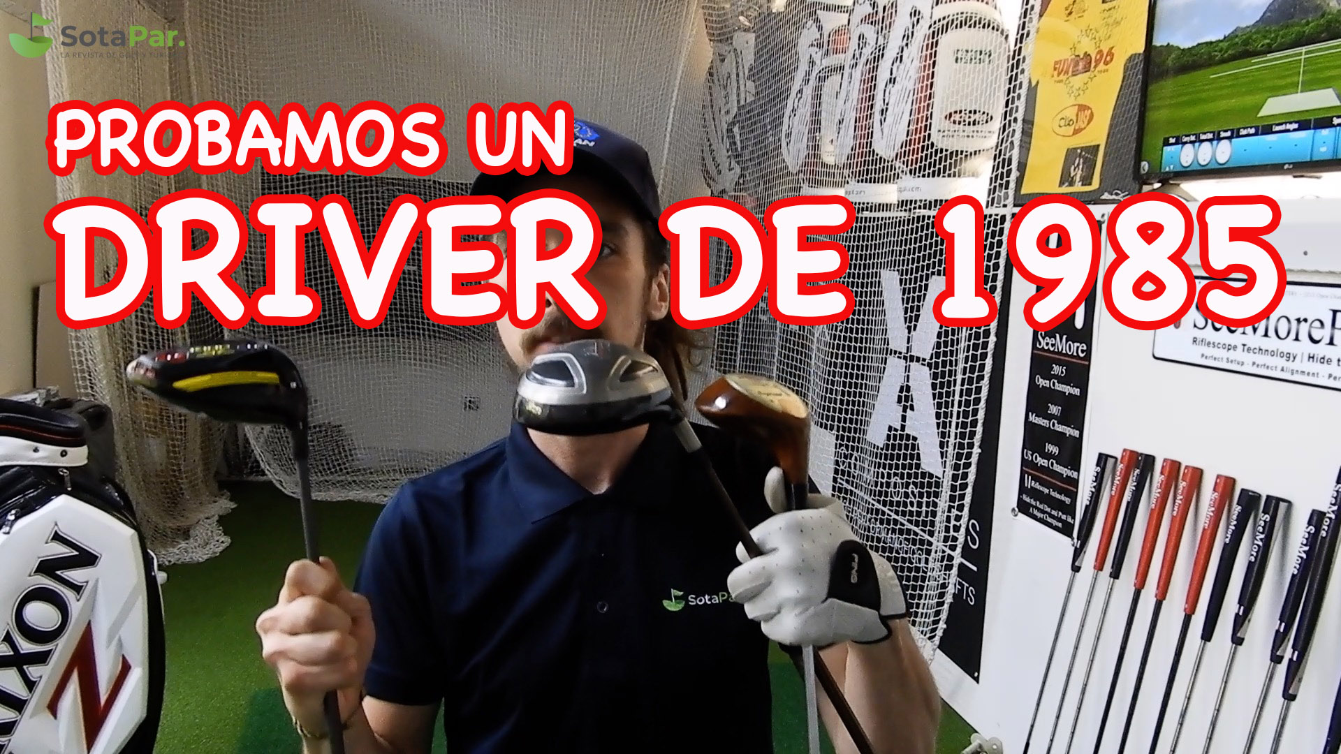 Driver Slazenger de 1985  VS. Cobra King SZ