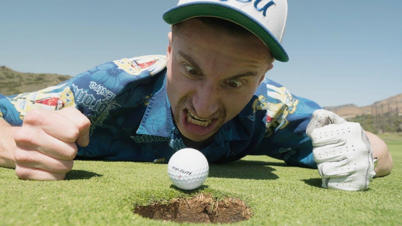 El peor compañero de golf del mundo.