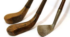 El primer set de palos de golf fue a medida