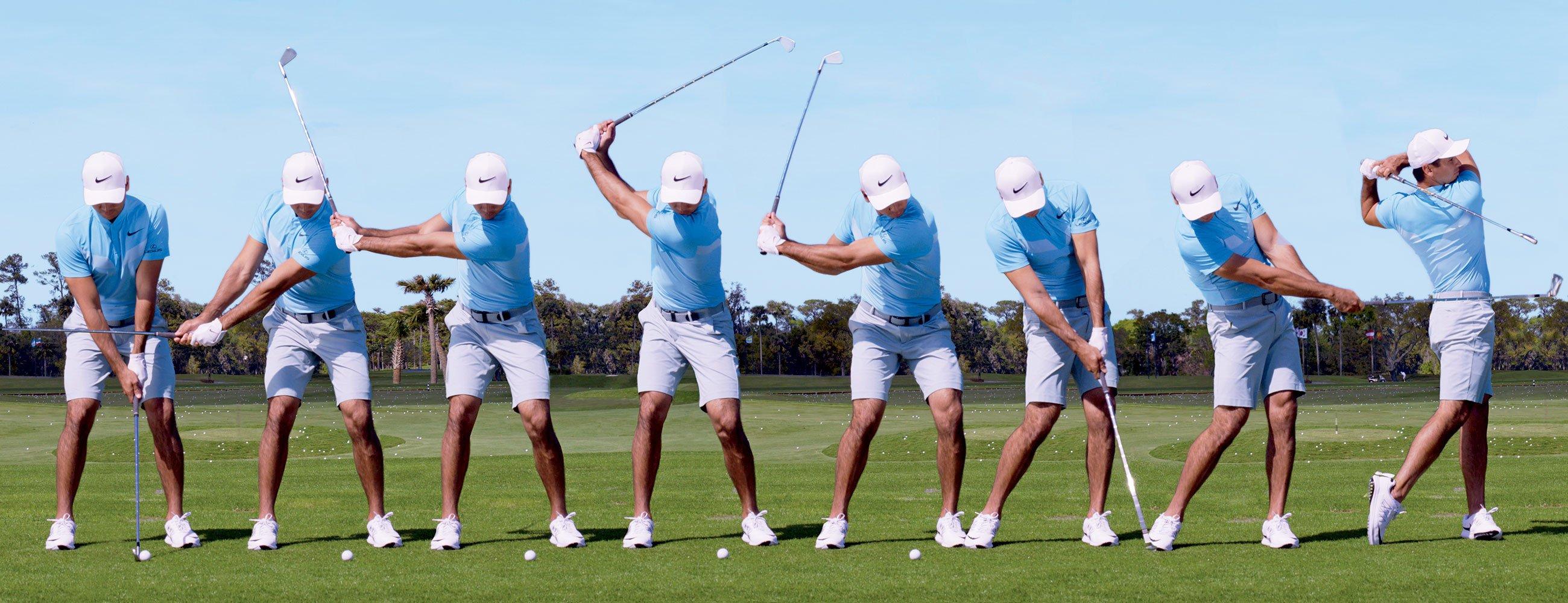 Simplifica tu swing al máximo.