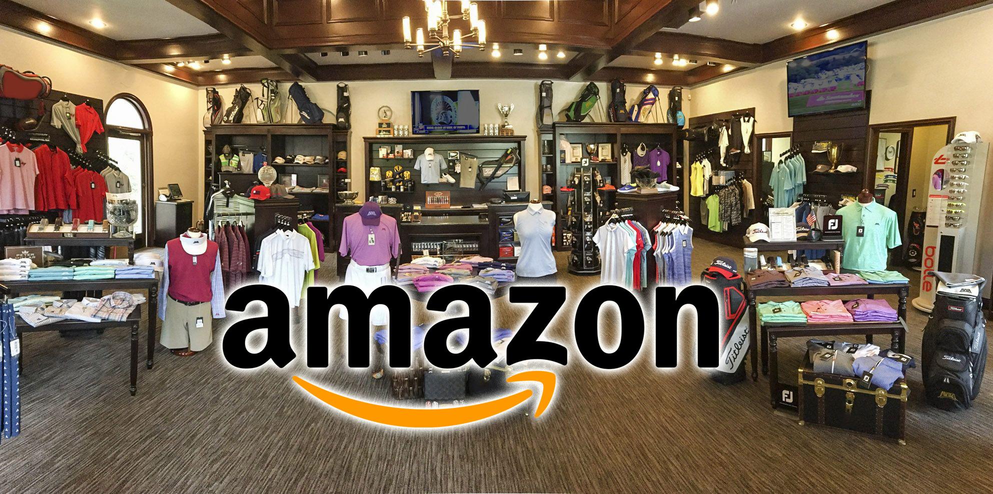 ¿Comprar productos de golf en Amazon?
