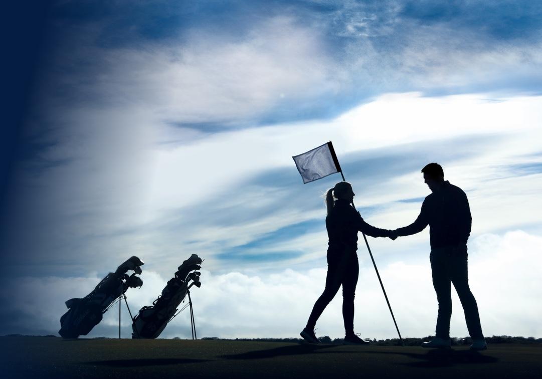 Deberes y obligaciones en el campo de golf.