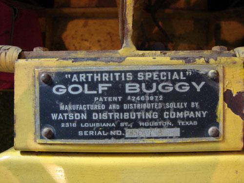 Buggies de golf, origen, historia y evolución.