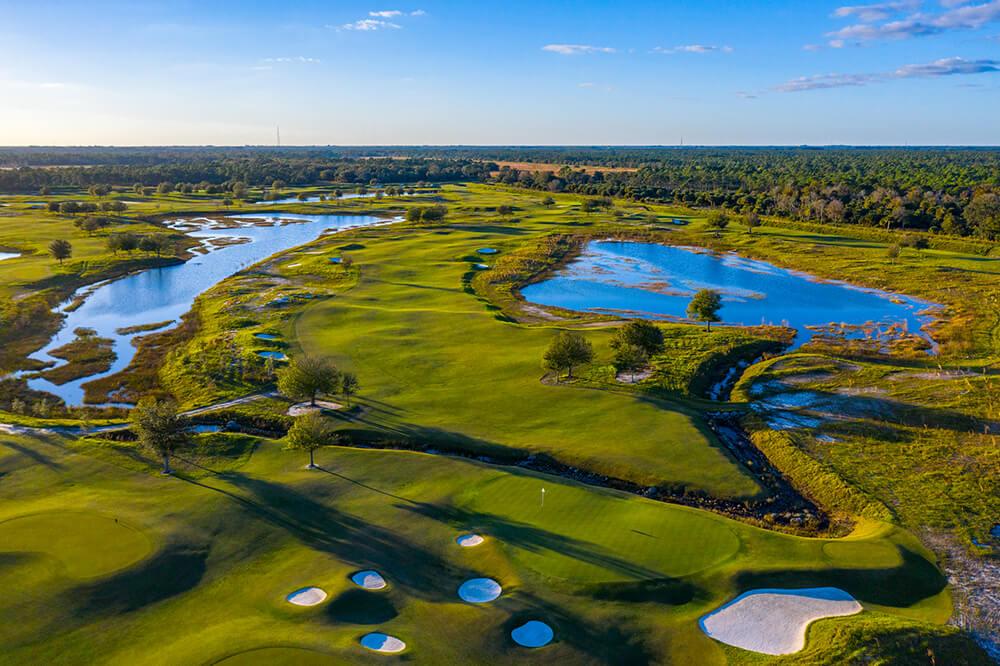 Famosos que tienen su propio campo de golf.