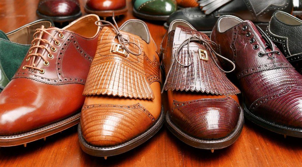 Historia y evolución de los zapatos de golf.