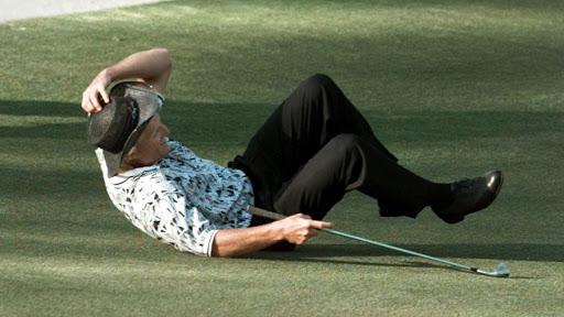 Los peores colapsos del golf profesional.