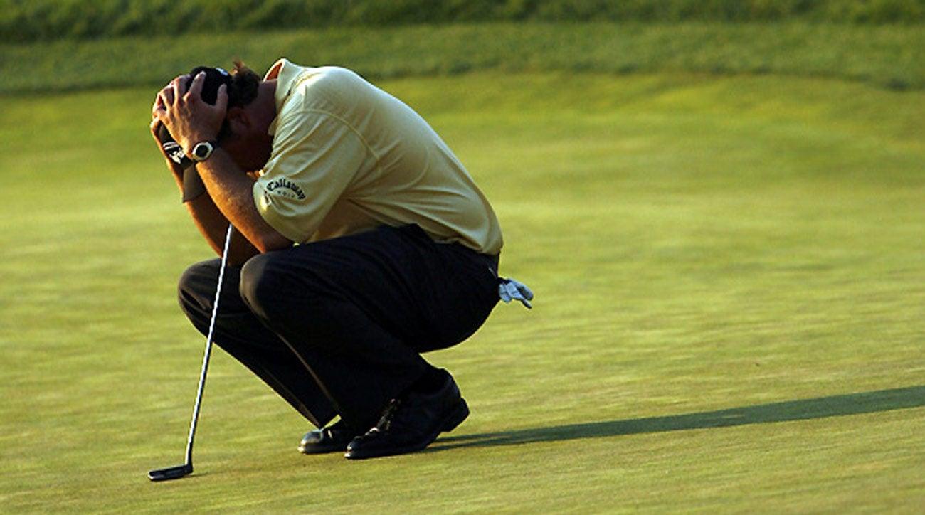 Practica el golf con presión, es lo más realista.