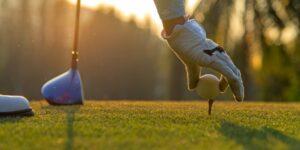 Calentamiento mental para jugar a golf.