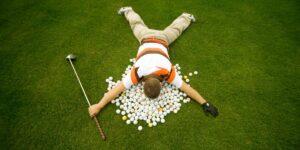 3 errores comunes en el golfista aficionado