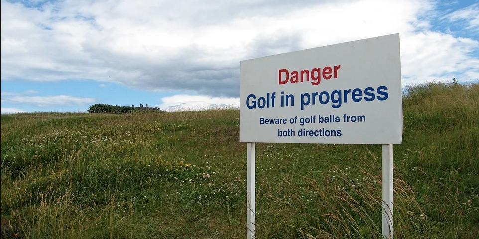 El lado oscuro del golf: lesiones y muertes.