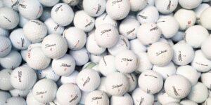 ¿Cuánto dura una bola de golf?