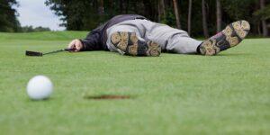 5 grandes errores mentales en golf
