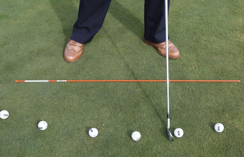 Posición de bola: Colócate siempre correctamente.