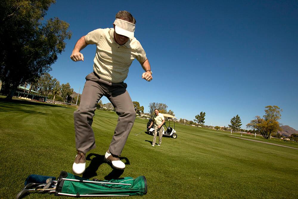Solución al problema mental #1 en golf.