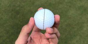 ¿Dibujar líneas o marcas en la bola ayuda?