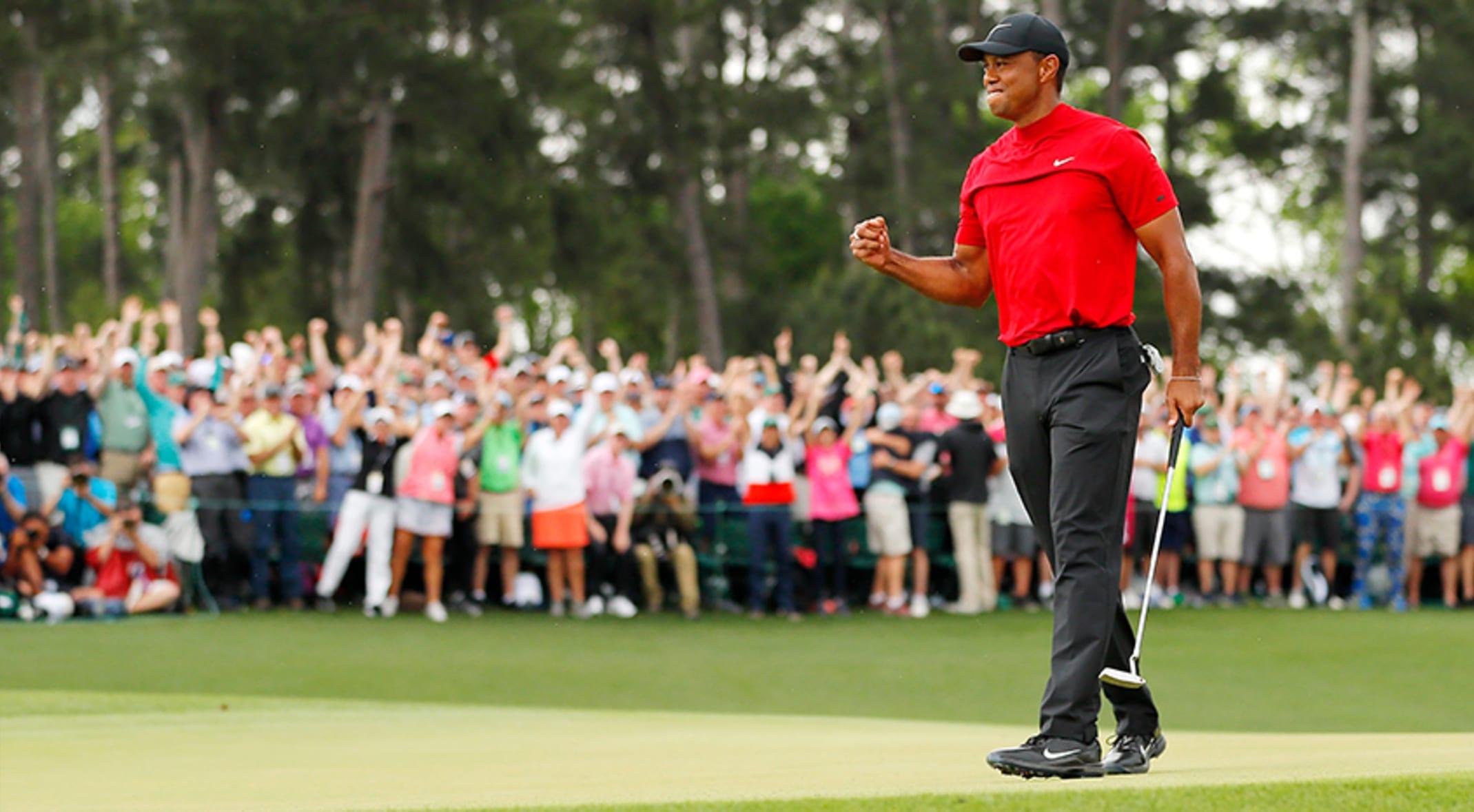 6 cosas que debes aprender de Tiger Woods.