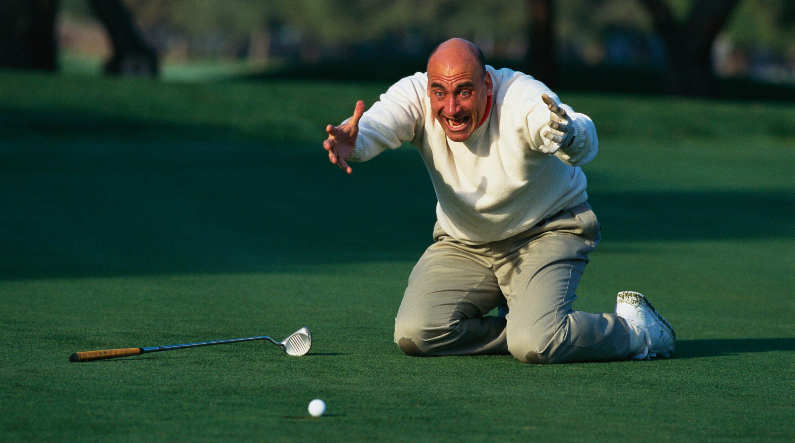 5 tipos de golfistas odiosos.