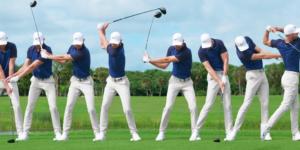 Swing de golf: la secuencia completa.