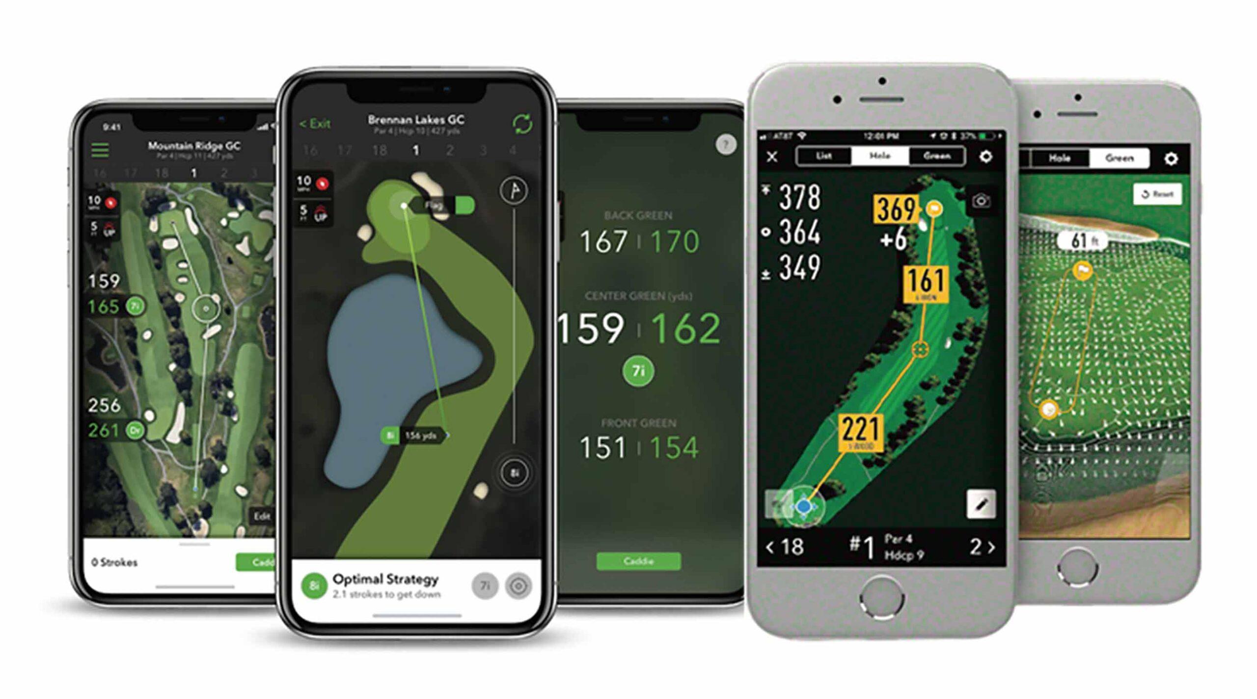 Aplicaciones móviles para jugar mejor a golf.